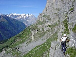 Klettersteig Tälli : 15.08.2004: tälli klettersteig bern via ferrata