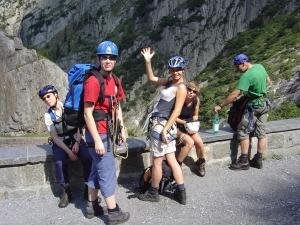 Klettersteig Diavolo : Klettersteig diavolo uri via ferrata
