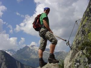Klettersteig Uri : 03.09.2005: klettersteig diavolo uri via ferrata