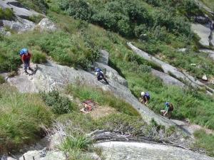 Klettersteig Uri : Gc fv hexensteig klettersteig traditional cache in uri
